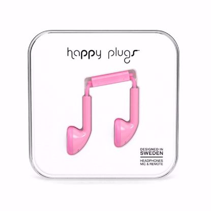 Picture of Trade Happy Plugs Earbud Wired Earphones in Pink