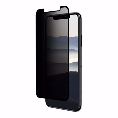 Picture of Eiger Eiger 3D Privacy GLASS Tempered Glass Screen Protector for Apple iPhone XS/X