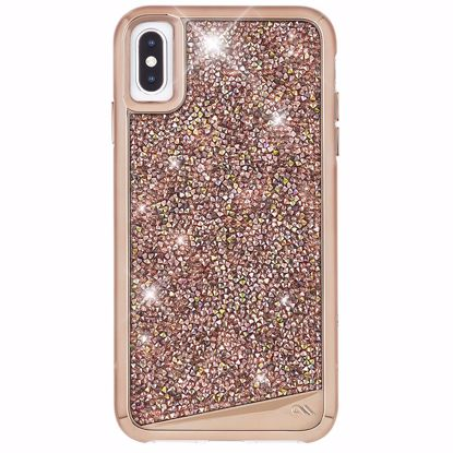 Picture of Case-Mate Case-Mate Brilliance Case for Apple iPhone XS Max in Rose Gold
