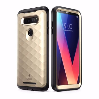 Picture of Clayco Clayco Hera Case for LG V30 in Gold