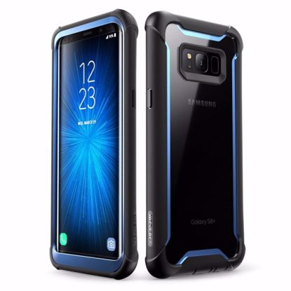 Picture of i-Blason i-Blason Ares Case for Samsung Galaxy S8 in Black/Blue