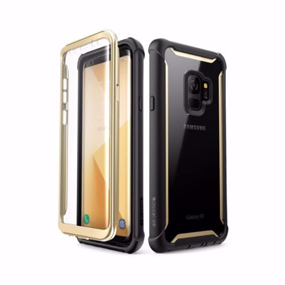 Picture of i-Blason i-Blason Ares Full Body Case for Samsung Galaxy S9 in Black/Gold