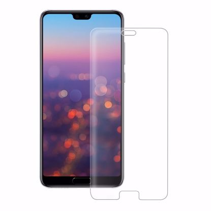 Picture of Eiger Eiger 3D GLASS Full Screen Tempered Glass Screen Protector for Huawei P20 Pro in Clear