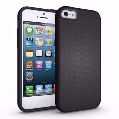 Picture of Eiger Eiger North Case for Apple iPhone 5/5s/SE in Black