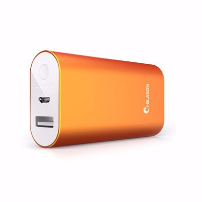 Picture of i-Blason i-Blason Aero 5200mAh Ultra Compact External Battery Portable USB Charger in Orange