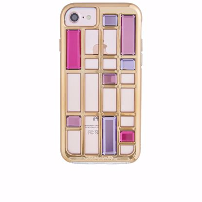 Picture of Case-Mate Case-Mate Caged Crystal Case for Apple iPhone 8/7/6s/6 in Rose Gold