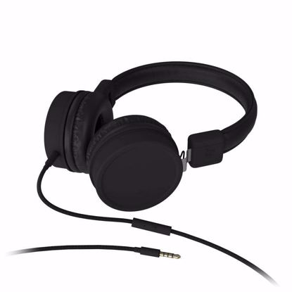 Picture of KitSound KitSound Brooklyn Wired Headphones in Black