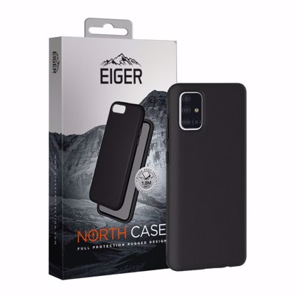 Picture of Eiger Eiger North Case for Samsung Galaxy A71 in Black