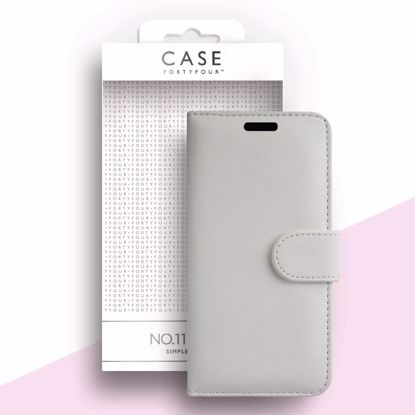 Picture of Case FortyFour Case FortyFour No.11 for Samsung Galaxy A51 in Cross Grain White