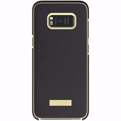 Picture of Kate Spade Kate Spade Wrap Case for Samsung Galaxy S8+ in Saffiano Black