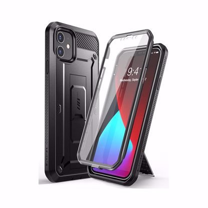Picture of i-Blason i-Blason Supcase UB Pro with Screen Protector for Apple iPhone 12 Mini in Black
