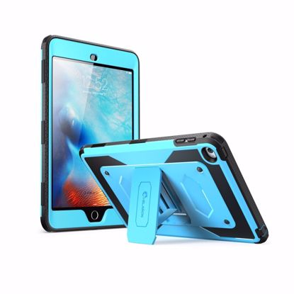 Picture of i-Blason i-Blason ArmorBox Case with Built-In Screen Protector for Apple iPad Mini 4 in Blue