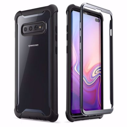 Picture of i-Blason i-Blason Ares Full Body Case with Screen Protector for Samsung Galaxy S10+ in Black